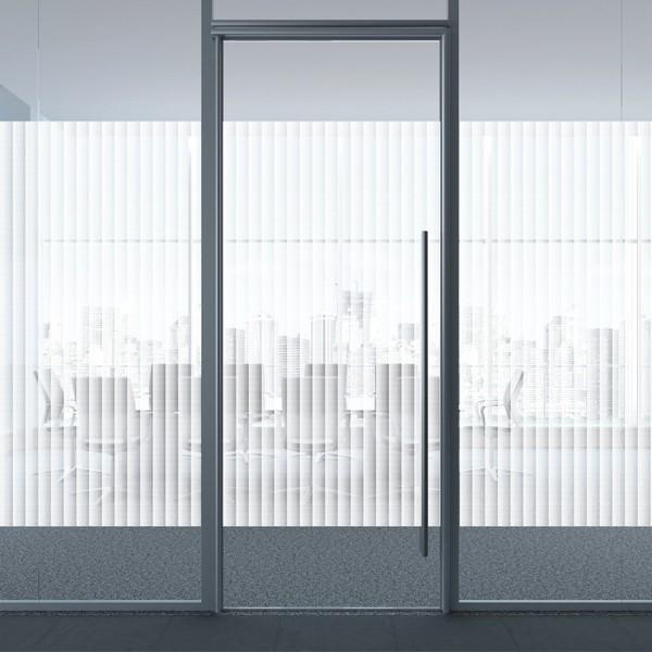 Lámina bandas verticales efecto degradado Boreal