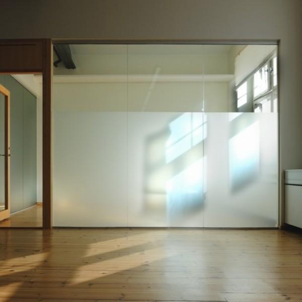 Lámina de protección antideslumbramiento interior para PVC